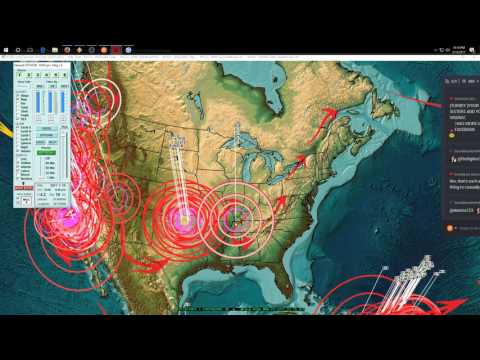 3/19/2017 -- Nightly Earthquake Update + Forecast -- West coast US, Japan, Indonesia on watch