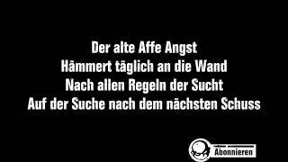 Böhse Onkelz - Nach allen Regeln der Sucht (Lyrics)