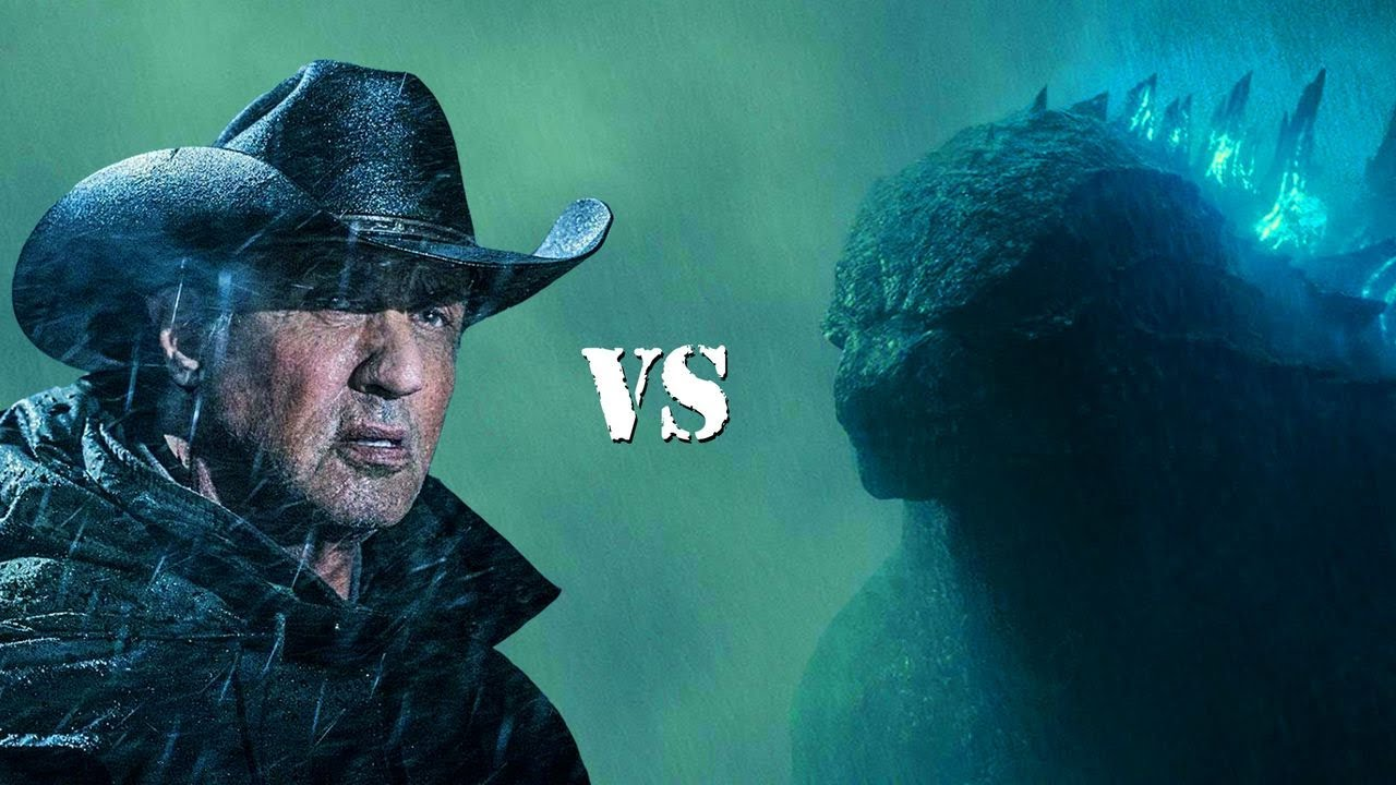 Rambo vs Godzilla