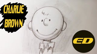 Drawing Charlie Brown from Peanuts - Easy Drawings
