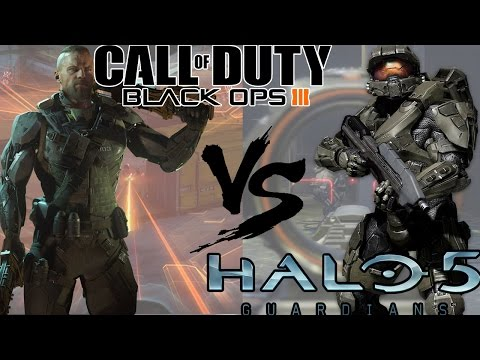 Black Ops 3 VS Halo 5