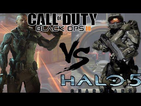 Black Ops 3 VS Halo 5