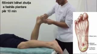 rehabilitation fasciitis plantaris