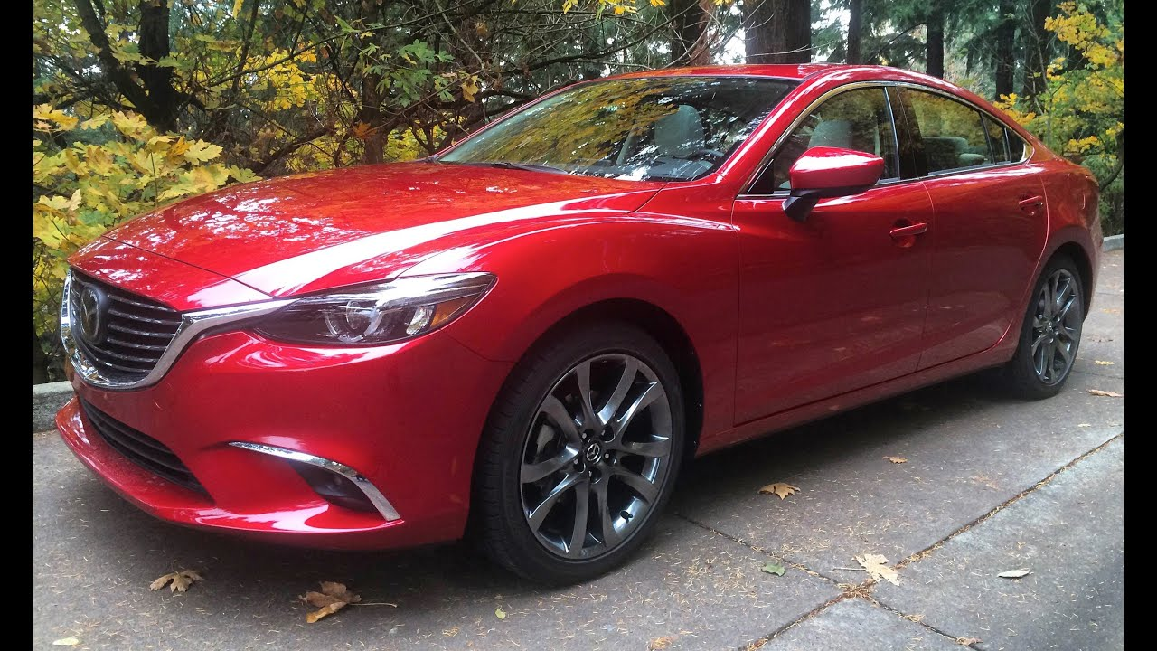 2016 Mazda Mazda6 Grand Touring 0-60 Time - YouTube