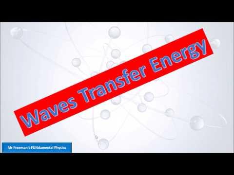 Waves transfer energy