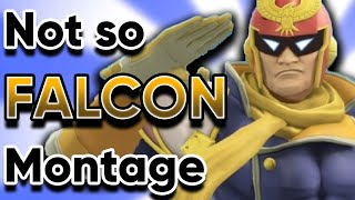 A NOT SO CAPTAIN FALCON MONTAGE (Super Smash Bros Ultimate)