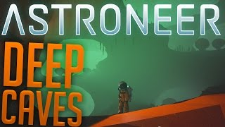 Astroneer - Exploring The Abyss - The World Eats Me! - Astroneer Gameplay Highlights