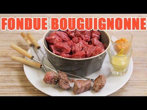 Exceptionnel Recette authentique de fondue Bourguignonne par notre Chef - YouTube MK28