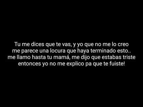 Me sigues queriendo Legarda ft Luisa Fernanda W // letra