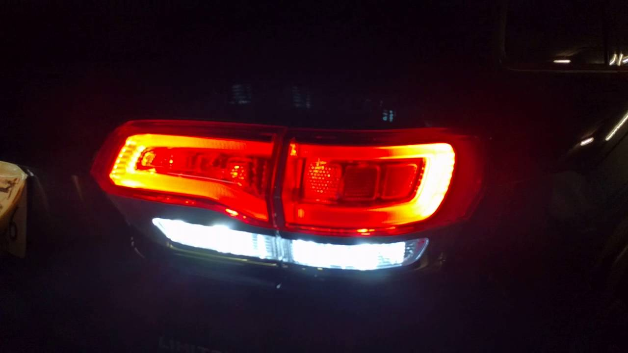 Reverse LED for 2014-2019 Jeep Grand Cherokee WK2 - YouTube