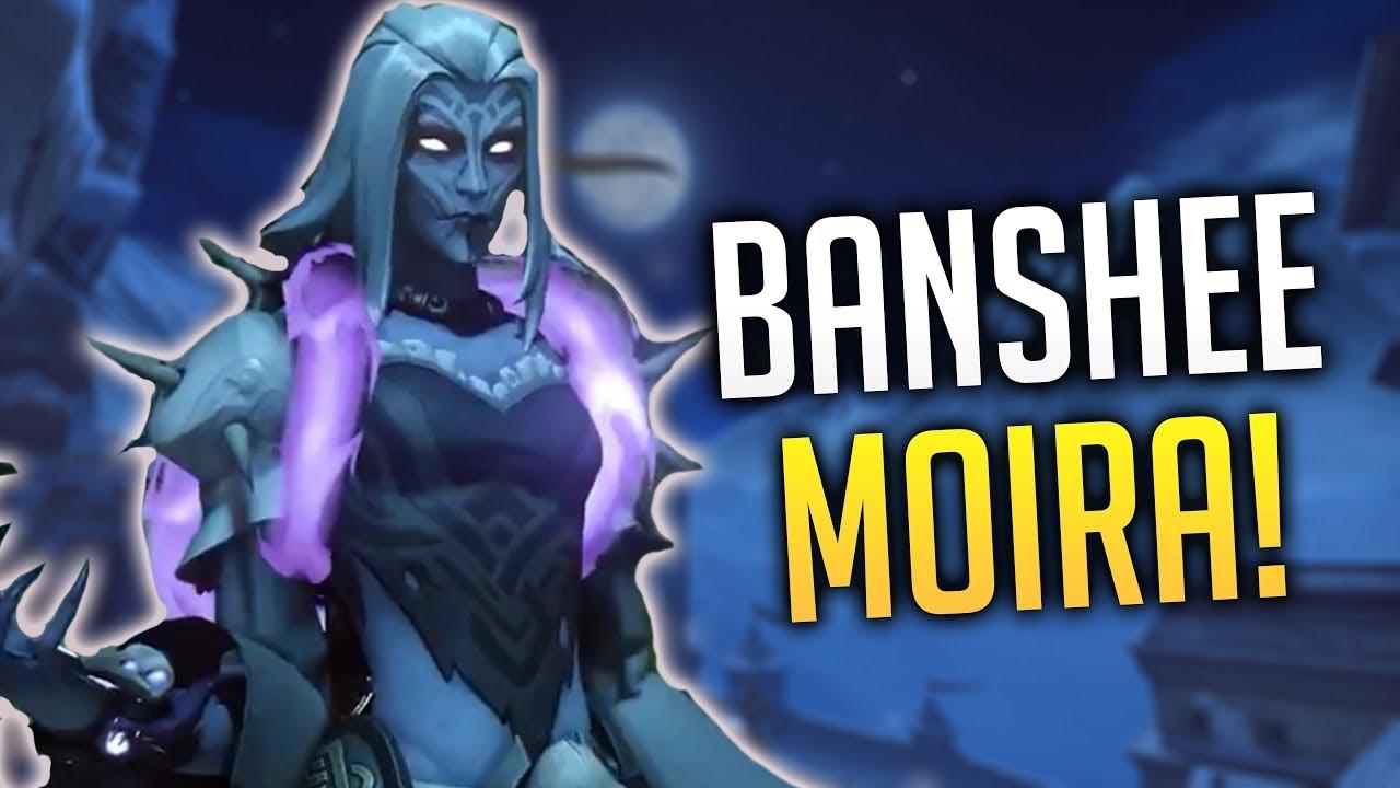 Moira Halloween Skin 2020 OVERWATCH   NEW LEGENDARY SKIN BANSHEE MOIRA!! [Halloween Terror