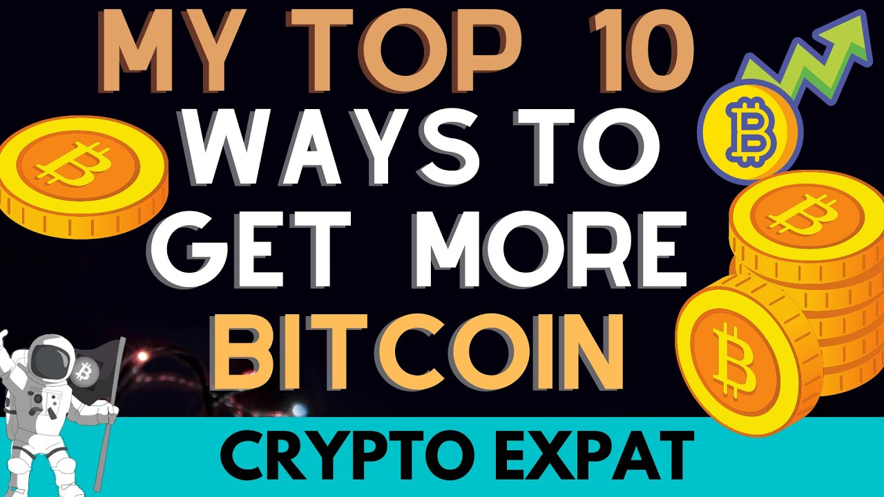 WOW Bitcoin Just hit $31K// My Top 10 Ways to Get More Bitcoin in 2021