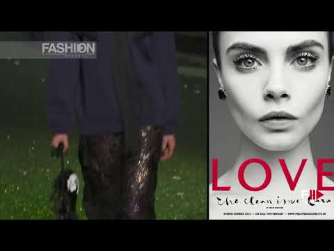 CARA DELEVINGNE Top Model - SS 2014 Best Moments by Fashion Channel