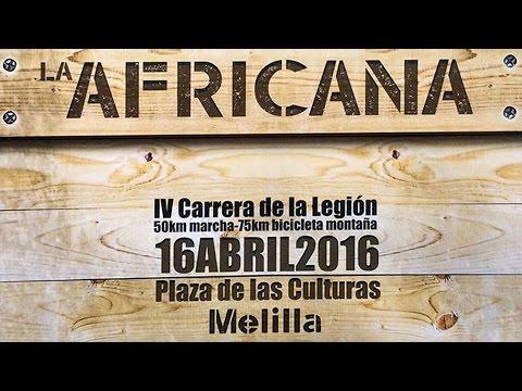Carrera africana Melilla 2016