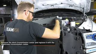 homepage tile video photo for 2015-2018 RAM 2500/3500 6.7L Cummins Transmission Cooler Installation Guide by Mishimoto