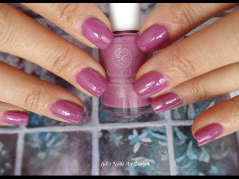 Watercolor Nail Polish First Impression Demo Review You