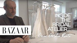 Inside the Bridal Atelier: Oscar de la Renta