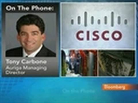 Auriga's Carbone Sees U.S. Leading Growth for Cisco: Video
