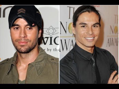 Enrique Iglesias and Julio Iglesias Jr - beautiful and talented brothers!