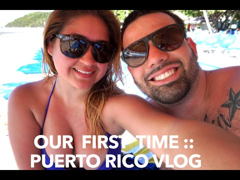 OUR FIRST TIME !! :: PUERTO RICO VLOG ♥