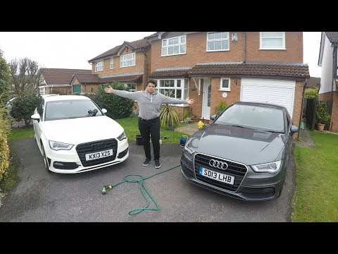 Audi A3 8V Post Winter Wash With aa.media