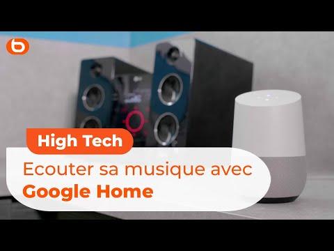 Ecouter sa musique avec Google Home | Boulanger