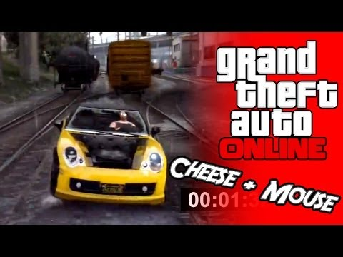 GTA Online! #18 - Cheese + Mouse - w/ Porcheg, SGM + Nightdrain.