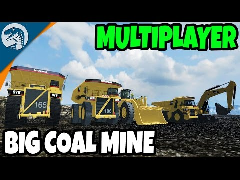 HUGE MULTIPLAYER COAL MINE | Farming Simulator 17 Gameplay