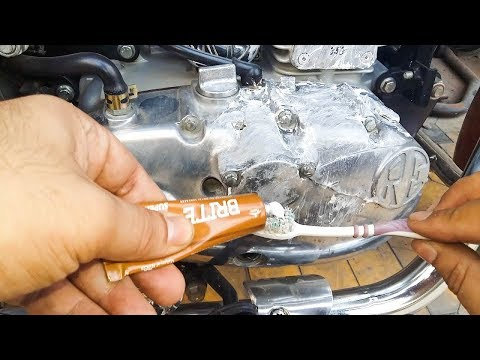 Royal Enfield Engine Buffing, Polish at Home | Chrome, Aluminium | Best Cheapest Method DIY