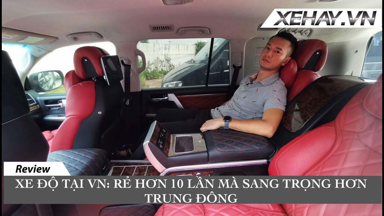 Xưởng độ xe MT Luxury: không thể tin đôi tay người Việt lại tài hoa đến thế |XEHAY.VN|