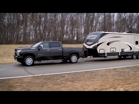 2020 Chevrolet Silverado HD – Advanced Trailer performance