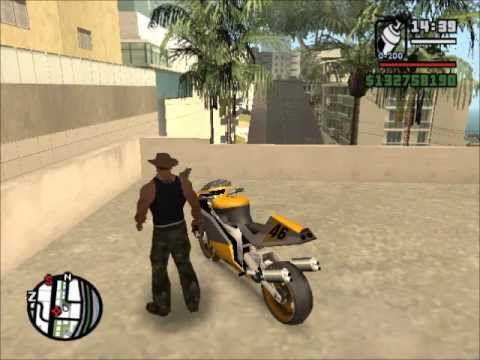 Gta San Andreas Como Encontrar Una Moto De Carreras Youtube