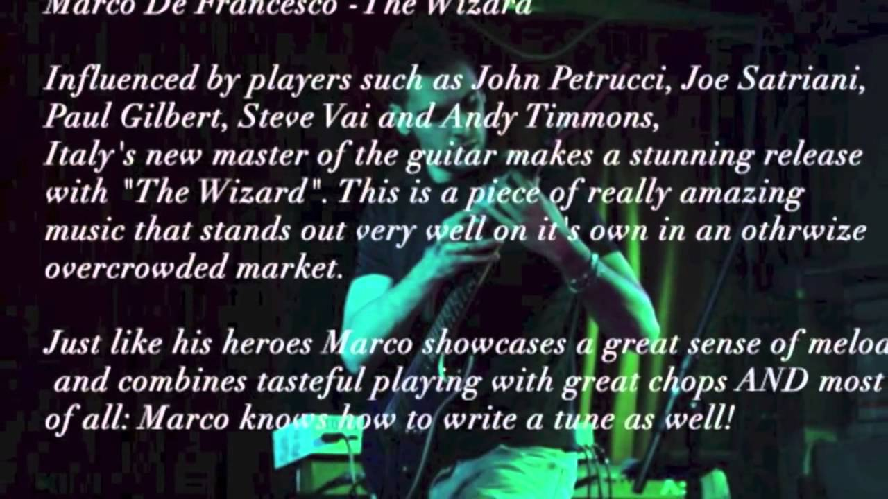 Marco De Francesco - Nuclear Alarm (The Wizard) - YouTube