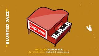 "BASE DE RAP - ""BLUNTED JAZZ"" - 90'S BOOM BAP RAP INSTRUMENTAL - J COLE TYPE BEAT (Prod. Fx-M Black)"