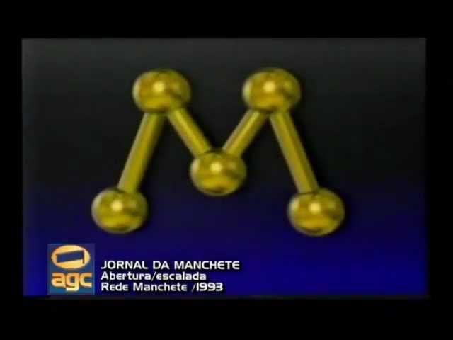 Vinheta: Jornal da Manchete (1993)