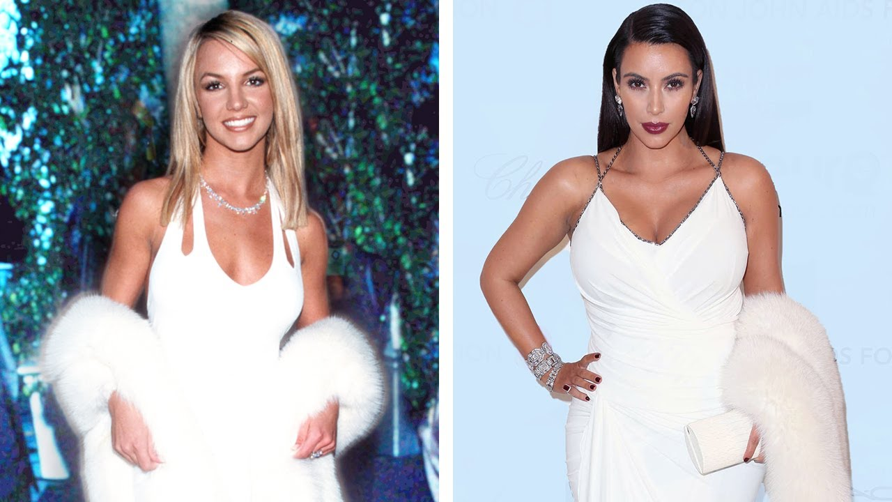 Celebs getting inspo from Britney's fashion #shorts