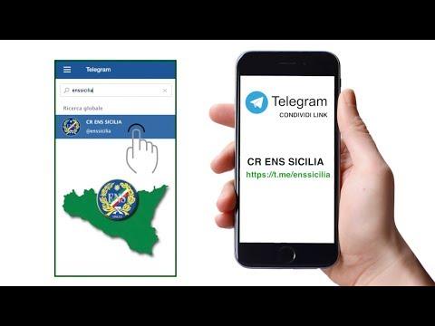 Nuovo canale Telegram del Consiglio Regionale ENS Sicilia