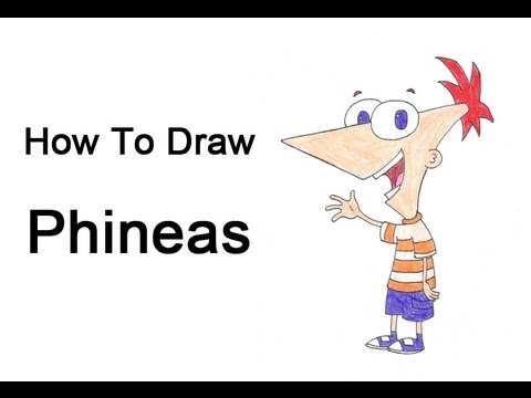 How To Draw Phineas