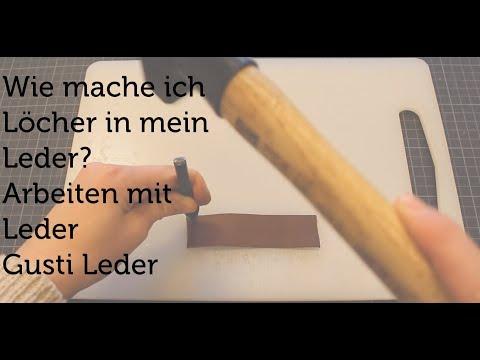 DIY | Gusti Leder YouTube