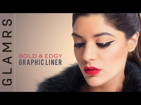 Trend To Try - GRAPHIC LINERS | Eye Makeup Tutorial by Pallavi Symons