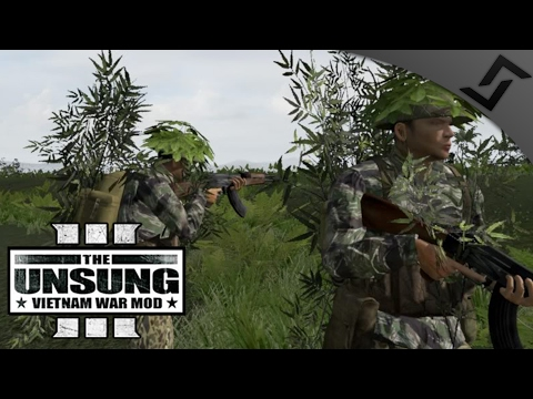 Vietnamese Dac Cong Special Forces - ARMA 3 Zeus Unsung Vietnam Mod Gameplay - Delta Version