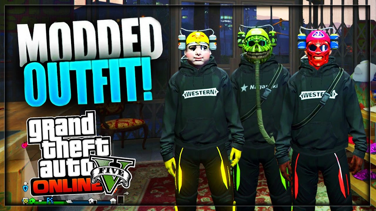 Gta 5 How To Create Quot Modded Tron Outfits Quot Using Clothing