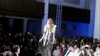Style Fashion Week...wings & fur flourishes wowed fashionistas!