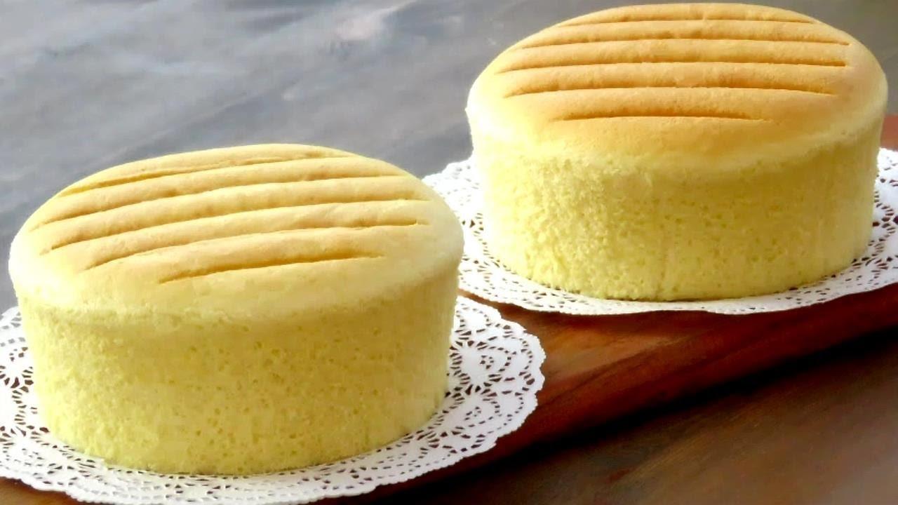 Fluffy Japanese Cotton Cheese Cake Recipe Youtube