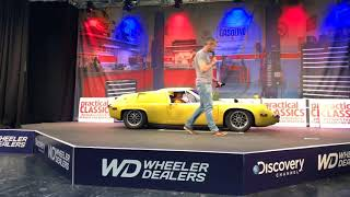 Sporting Bears offer Dream Rides at the NEC Classic car show 11th November 2018