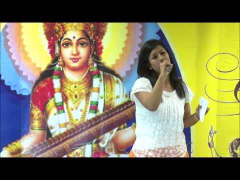 Saraswati Puja Celebration 2014.  Mrs. Sagarika Das