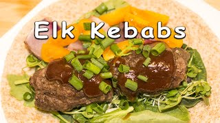 Elk Kebabs - Recipe