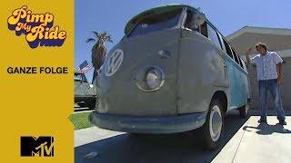 Pimp My Ride | Gaฑze Folge | Episode 3 | Staffel 2 | 1958 Volkswagen Bus | MTV Germany