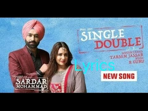 Lyrics of Single double