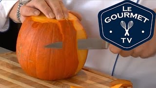 Chef Tip - How to prepare a Pumpkin || LeGourmetTV